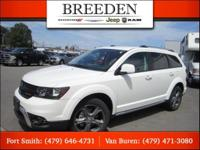 New Price! Certified. White 2017 Dodge Journey