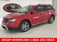 CARFAX One-Owner. Clean CARFAX. Red 2017 Dodge Journey