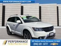 This Dodge Journey boasts a Regular Unleaded V-6 3.6
