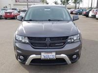 Options:  2017 Dodge Journey Crossroad|Gray|Carfax