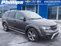 2017 Dodge Journey Crossroad Granite Pearlcoat