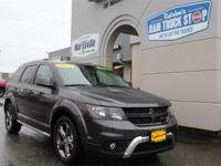 This 2017 Dodge Journey Crossroad One-Owner CARFAX 3rd