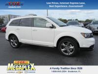 This 2017 Dodge Journey Crossroad in Vice White is well