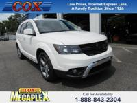 This 2017 Dodge Journey Crossroad in White is well