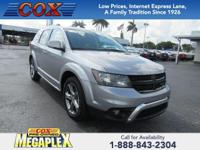 This 2017 Dodge Journey Crossroad in Billet Clearcoat
