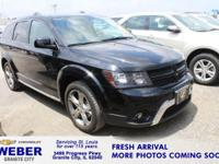 Recent Arrival! Pitch Black Clearcoat Dodge Journey **7