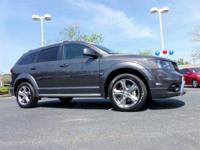 CarFax 1-Owner, This 2017 Dodge Journey CROSSRD will