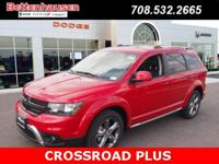Options:  2017 Dodge Journey Crossroad|Red|In A Class