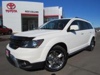 This 2017 Dodge Journey comes equipped with heated