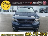 Options:  2017 Dodge Journey Gt|Gray|Carfax One-Owner.