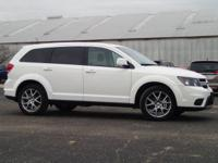 Recent Arrival! White 2017 Dodge Journey GT One Owner