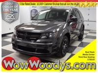 This 2017 Dodge Journey SE FWD is equipped with a 2.4L