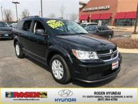 JUST ARRIVED! 2017 Dodge Journey SE With Only 18,022