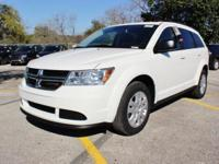Purchase this brand NEW bright white 2017 Dodge Journey