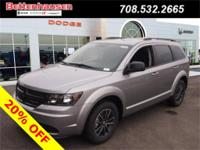 Options:  2017 Dodge Journey Se|Silver|Welcome To