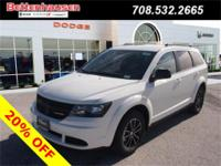 Options:  2017 Dodge Journey Se|White|A Great Deal In
