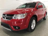 Options:  2017 Dodge Journey Sxt|Red|Odometer Is 10066