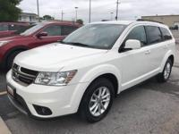 Recent Arrival! White 2017 Dodge Journey AWD. Clean