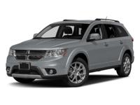 CARFAX One Owner. Clean CARFAX. 2017 Dodge Journey SXT
