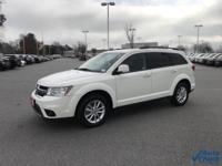 Vice White 2017 Dodge Journey SXT FWD 6-Speed Automatic