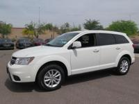 Options:  2017 Dodge Journey Sxt|White|New Price!