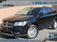 Very cool third row, 2017 Dodge Journey SXT... Carfax