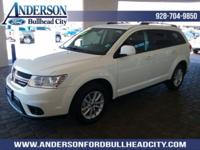 White 2017 Dodge Journey SXT FWD 6-Speed Automatic 3.6L