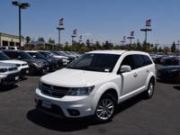 This 2017 Dodge Journey SXT, has a great White