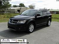 Black 2017 Dodge Journey SXT FWD 4-Speed Automatic VLP