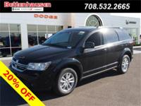 Options:  2017 Dodge Journey Sxt|Black|What A Price For