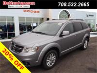 Options:  2017 Dodge Journey Sxt|Silver|A Great Deal In