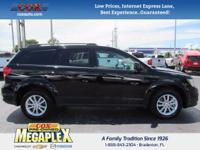This 2017 Dodge Journey SXT in Black is well equipped
