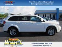 This 2017 Dodge Journey SXT in Vice White is well