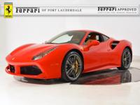 2017 Ferrari 488 GTB - FERRARI APPROVED - CERTIFIED