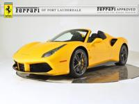 2017 Ferrari 488 Spider - FERRARI APPROVED - CERTIFIED