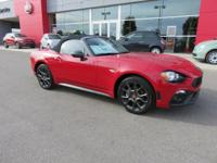 Scores 36 Highway MPG and 25 City MPG! This FIAT 124