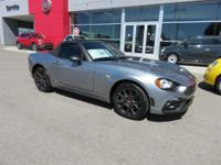 Boasts 36 Highway MPG and 25 City MPG! This FIAT 124