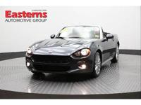 New Price! 2017 2D Convertible Gray 2017 Fiat 124