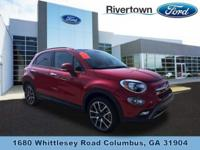 2017 FIAT 500X is a 1 Owner Clean Car Fax, Upgraded