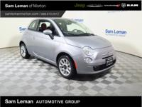 2017 Fiat 500 Pop in Silver vehicle highlights include.