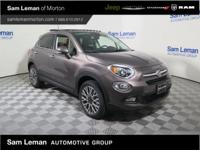 2017 Fiat 500X Lounge in Bronze vehicle highlights