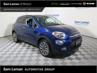 2017 Fiat 500X Lounge in Blue vehicle highlights
