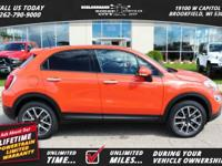 Options:  2017 Fiat 500X Trekking|*Shown Internet