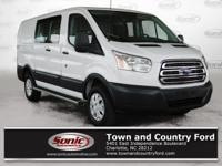 Only 11,636 Miles! This Ford Transit Van boasts a