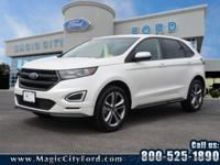 You'll love the look and feel of this 2017 Ford Edge