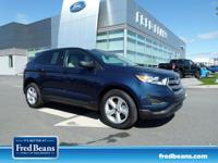 Trustworthy and worry-free, this Used 2017 Ford Edge SE