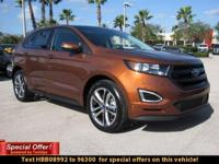 The 2017 Ford Edge is taking crossovers to a whole new