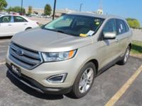 Our One Owner, Accident Free, 2017 Ford Edge Titanium