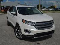 This super clean, low mileage Ford Edge Titanium AWD is