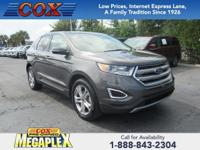 This 2017 Ford Edge Titanium in Gray is well equipped